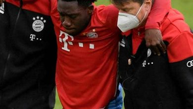 Photo of Alphonso Davies Out For 6-8 Weeks with Ankle Injury
